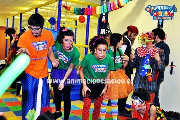 Contacta con nuestro servicio de animaciones para fiestas infantiles en Madrid