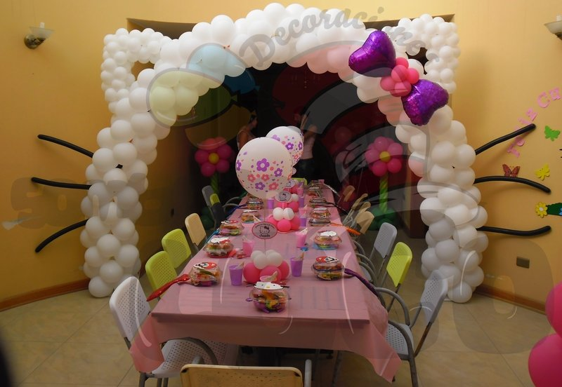 queda genial ideas para decorar una fiesta infantil decoracin