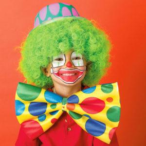Maquillaje de payasos para niños-1