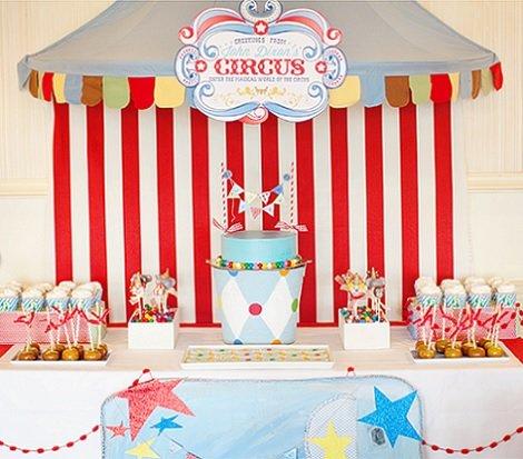 Ideas para una fiesta de cumplea os inspirada en el circo - Fiesta de cumpleanos en casa para ninos ...