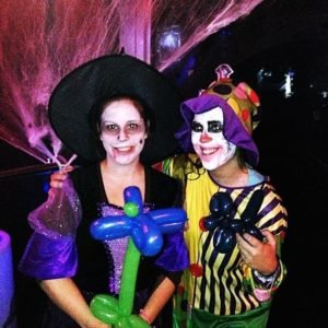 Payasos para Halloween a domicilio