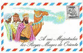 dirección de los reyes magos de oriente