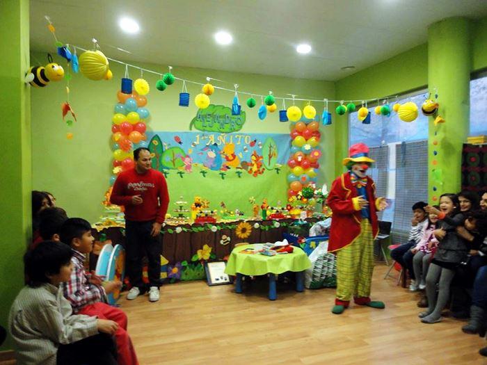 fiestas infantiles temáticas con payasos