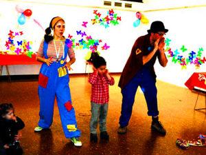 Dónde celebrar fiestas infantiles con payasos Madrid