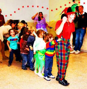Dónde celebrar fiestas infantiles con payasos en Madrid