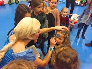 Maquillaje infantil de Disney