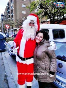 Contratar la visita de Papá Noel en Madrid