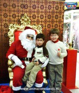 La visita de Papá Noel a domicilio en Madrid