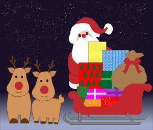 Papá Noel y los Niños (1)