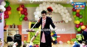 Payaso para cumpleaños en Madrid.es.