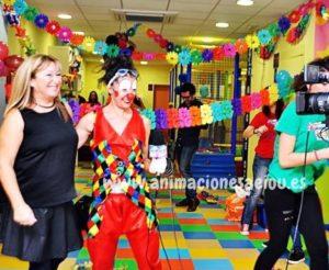 Payasos fiestas cumpleaños infantiles Madrid