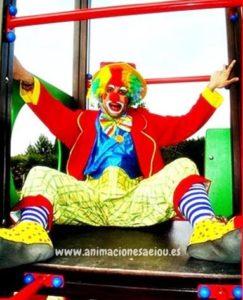 payasos para fiestas de niños Madrid