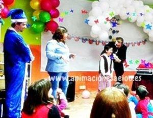 Show de magia para fiestas infantiles en Madrid