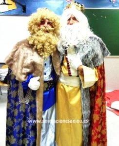 visita de los reyes magos en Madrid