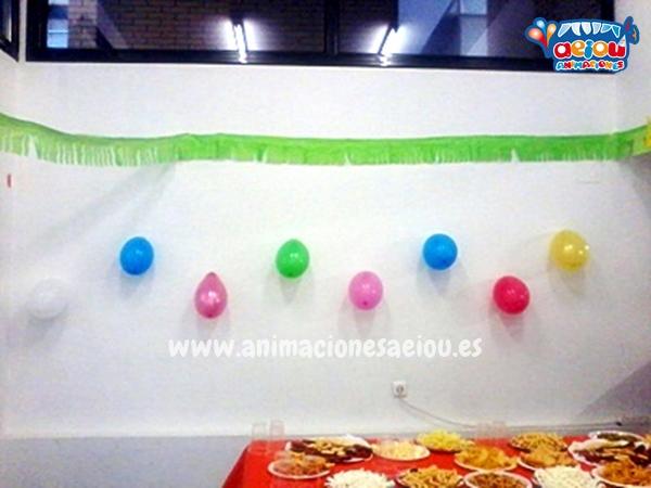 Decoración de cumpleaños infantiles en Madrid a domicilio