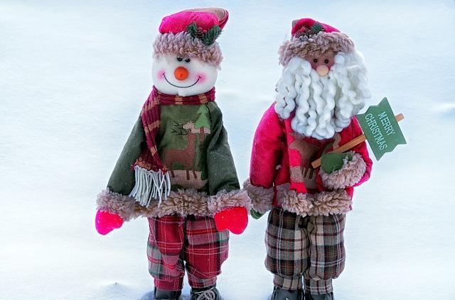 Decoración con ideas de personajes de navidad