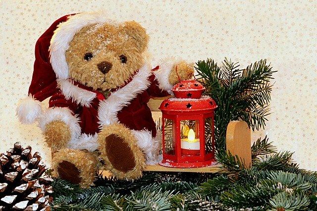 Los juguetes para las ideas al decorar para navidad
