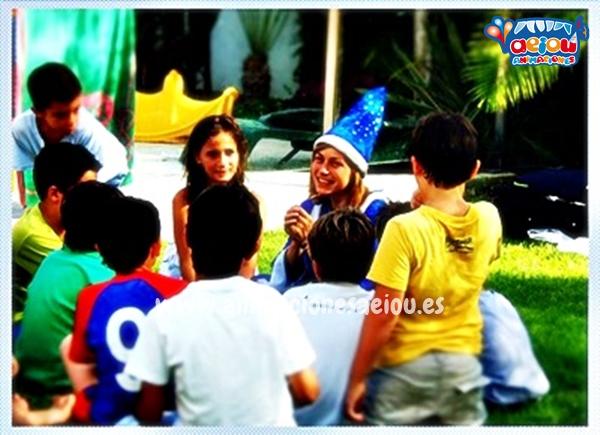 Animación para fiestas de cumpleaños infantiles en Alcalá de Henares