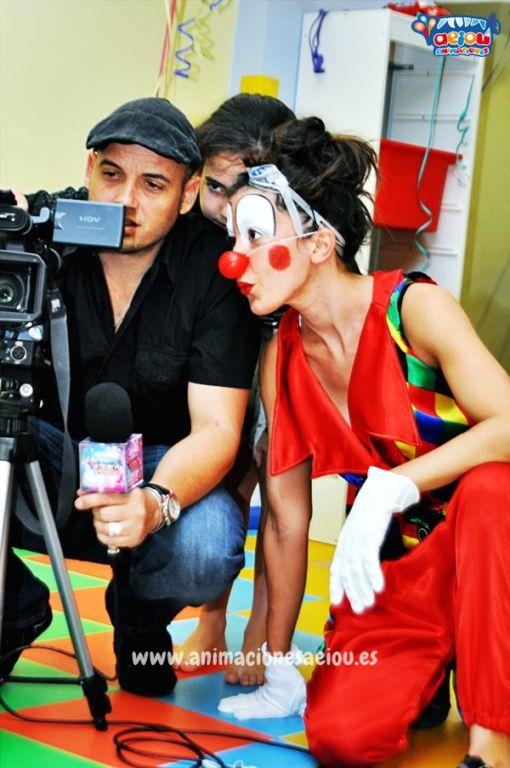 Animación para fiestas de cumpleaños infantiles en Alcorcón