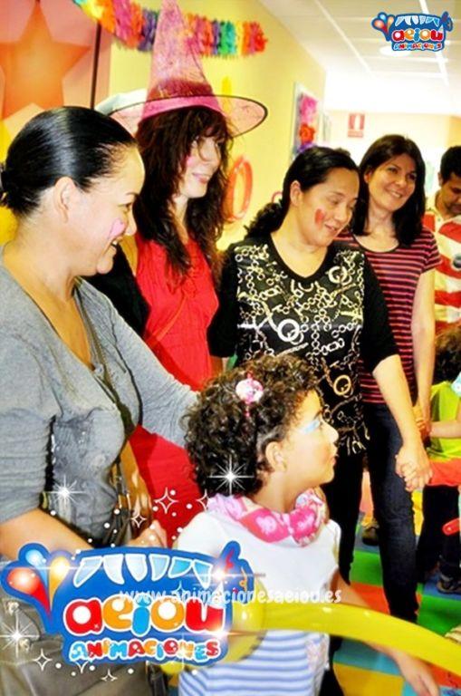Animaciones para fiestas de cumpleaños infantiles en Guadarrama