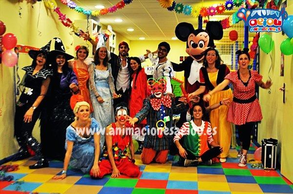 Animaciones para fiestas de cumpleaños infantiles y comuniones en Alcorcón