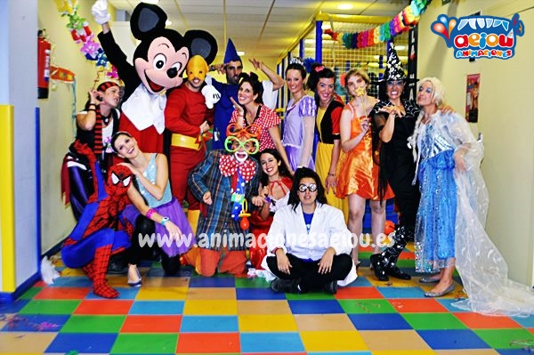 Animaciones para fiestas de cumpleaños infantiles y comuniones en Colmenarejo