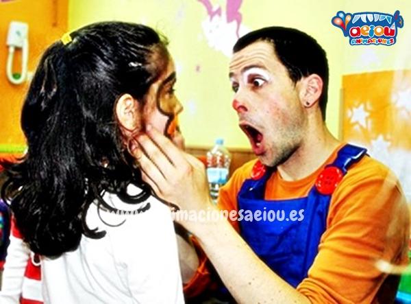 Animaciones para fiestas de cumpleaños infantiles y comuniones en Fuenlabrada