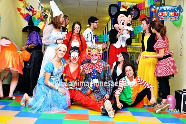 Animaciones para fiestas de cumpleaños infantiles y comuniones en Getafe