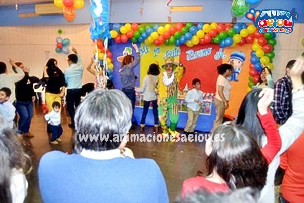 Animaciones para fiestas de cumpleaños infantiles y comuniones en Hoyo de manzanares