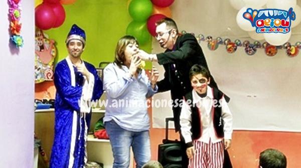 Animaciones para fiestas de cumpleaños infantiles y comuniones en Mataelpino (2)