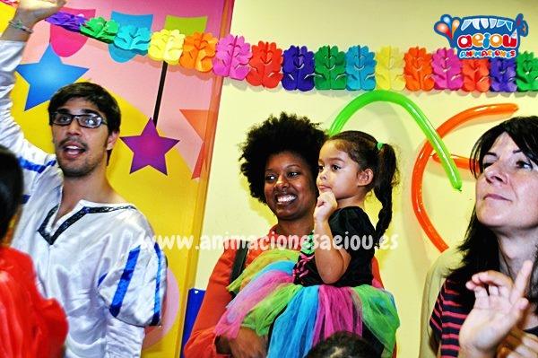 Animaciones para fiestas de cumpleaños infantiles y comuniones en Mejorada del campo