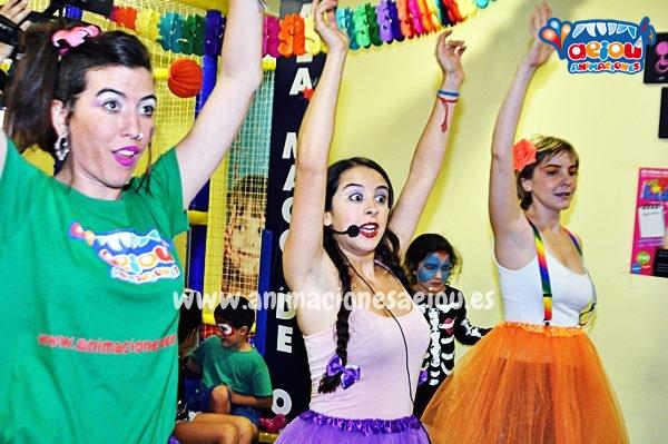 Animaciones para fiestas de cumpleaños infantiles y comuniones en Parla
