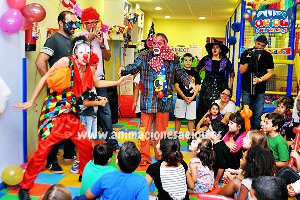 Animaciones para fiestas de cumpleaños infantiles y comuniones en Rivas