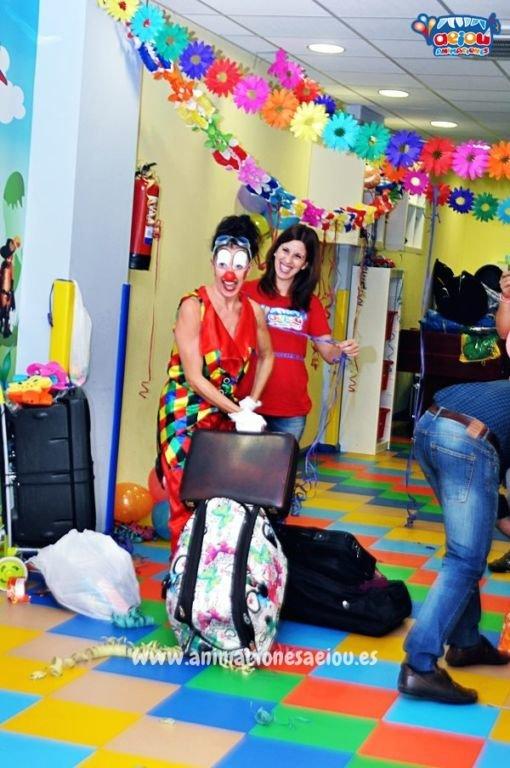 Animaciones para fiestas de infantiles en El Escorial