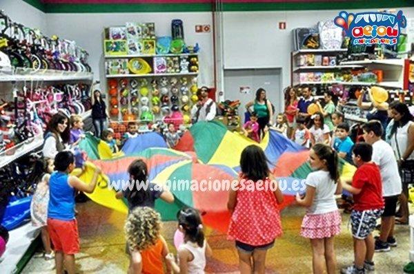 Animaciones para fiestas de infantiles en Mataelpino