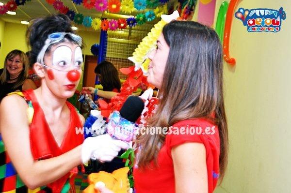 Animaciones para fiestas infantiles en Casarrubios del monte