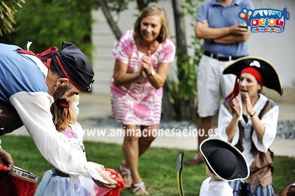 Animaciones para fiestas infantiles en Manzanares del real