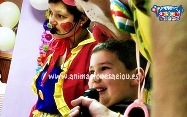 Animación para fiestas de cumpleaños infantiles en Algete