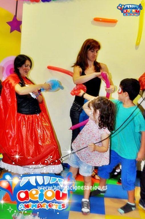 Animación para fiestas de cumpleaños infantiles en Arroyomolinos