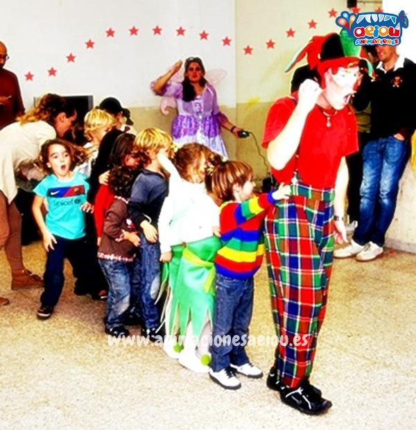 Animaciones para fiestas de cumpleaños infantiles y comuniones en Algete