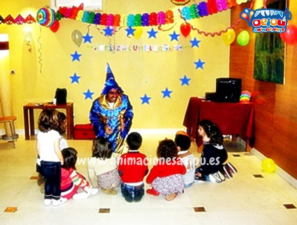 Animaciones para fiestas de cumpleaños infantiles y comuniones en Colmenar Viejo