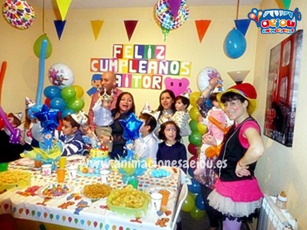 Animaciones para fiestas de cumpleaños infantiles y comuniones en El Espinar