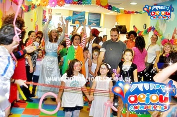 Animaciones para fiestas de cumpleaños infantiles y comuniones en Las Navas del Marqués