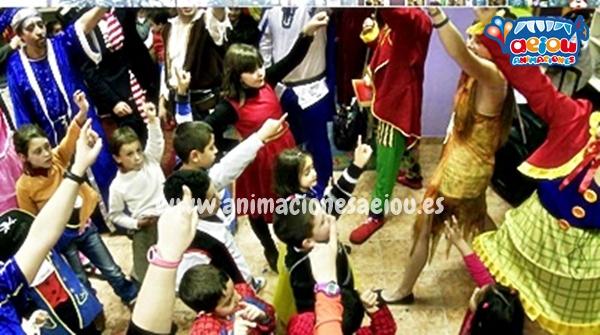 Animaciones para fiestas de cumpleaños infantiles y comuniones en Valdemoro