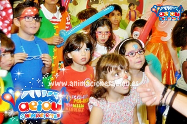 Disfruta de la mejor animación de fiestas de cumpleaños infantiles en Navacerrada