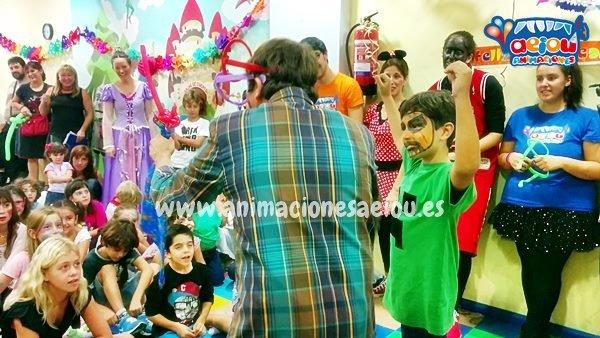 Estupendas animaciones de fiestas infantiles en Alalpardo