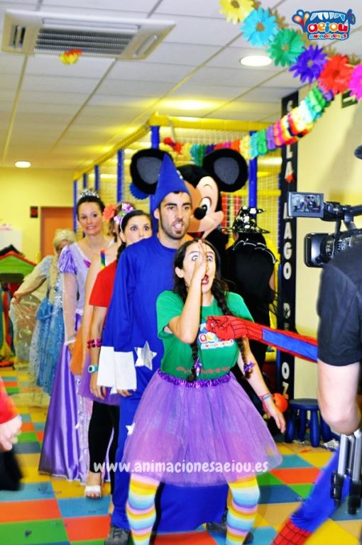Las más divertidas Animaciones de Fiestas Infantiles en Arenas de San Pedro