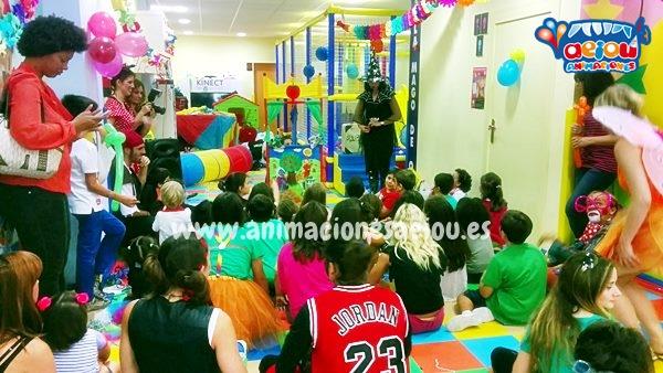 Solicita la mejor animación de cumpleaños infantiles en Cuéllar