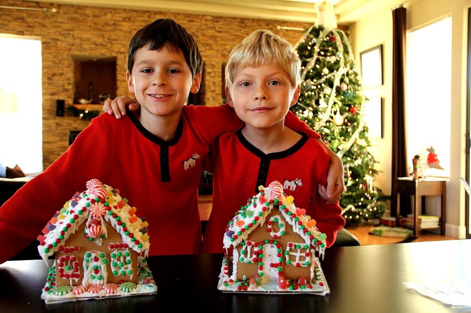 Juegos divertidos para fiestas de Navidad-niños