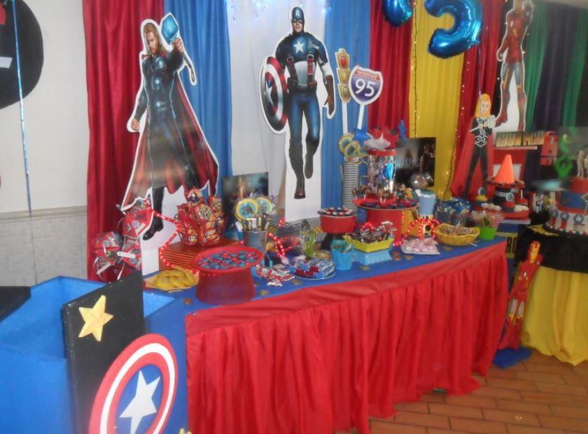 Fiestas temáticas Los Vengadores